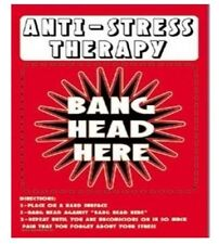 Funny Sign Prank Business Metal Tin Sign antiStress Therapy     adult only xxx