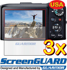 3x Clear LCD Screen Protector Guard Cover Film Canon PowerShot SX270 HS SX280 HS