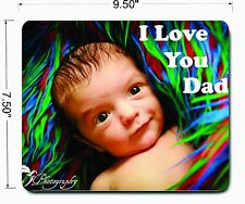 Mouse pad personalised custom Photo or Logo PC or Laptop large Mat