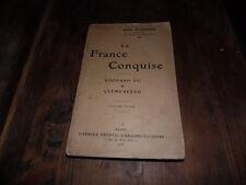 1906.La France conquise.Edouard VII et Clémenceau.Flourens