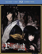 Basilisk: The Complete Series (Blu-ray/DVD, 2015, 7-Disc Set)