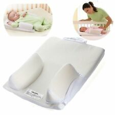 Baby Infant Newborn Anti Roll Pillow Sleep Positioner Prevent Flat Head Cushion
