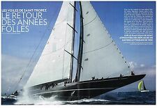 Coupure de presse Clipping 2014 (8 pages) Les Voiles de Saint-Tropez
