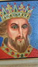 """William Verdult ( The Ducthmaster ) """"King Henry"""" large oil painting Original US"""