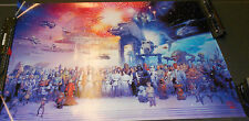STAR WARS GALAXY POSTER LIMITED TO 3000 LARGE CAST TSUNEO SANDA PRINT