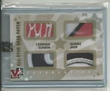 Superlative Vault V1/1 on all-Star Quad-Patch Gold Yzerman Gomez Sundin Jagr