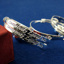 Adjustable 925 Silver Baby Children Bell Bracelet Bangles Anklet 2PCS