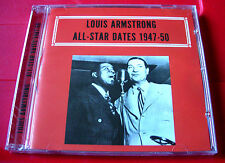 Louis Armstrong All-Star Dates 1947-50 CD NEW SEALED Jazz Earl Hines