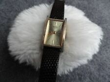 Vintage Mortima 17 Jewels Wind Up Ladies Watch - Runs Fast