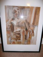 Oil/Charcoal on Paper Original Still Life Hand Painting (Frame not Included) 2/4