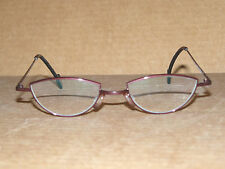 "THEO ""Castafiori"" purple titanium eyeglass frames - NEW fashion Made in Belgium"