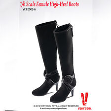 VERYCOOL VCF2002 1/6 scale female high-heel boots black