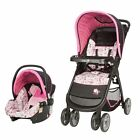 NEW Disney Minnie Mouse Infant Baby Stroller Car Seat Travel System Carrier