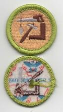 """Woodworking Merit Badge, Type L, """"Since 1910"""" Back (2012-Current)"""