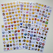 Playful Emoji Smile Face Stickers Pack 48 Die Cut For iPhone Instagram Twitter