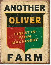 Oliver Tractors Farming  Metal Sign Tin New Vintage Style USA #1775
