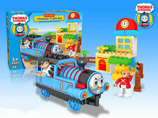 THOMAS THE TANK ENGINE & FRIENDS TRAIN SET BUILDING BLOCKS GAME EDUCATIONAL TOY