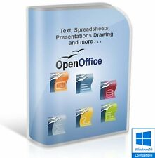 Open OFFICE 2017 PRO Edition Word Processor Microsoft Windows (Digital Download)