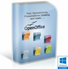 Open Office 2017 Pro Edition Elaboratore di testi Microsoft Windows (Digital Download)