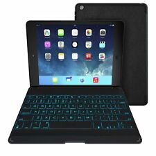 USED Zagg Keys Folio with Backlit Bluetooth Black Keyboard for iPad Air Zag