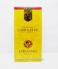5 Boxes Organo Gold Gourmet Cafe Latte Coffee Ganoderma Lucidum + Free Express