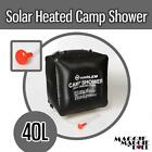 40L Camp Shower Bag Solar Heated Water Portable Camping Hiking Travel Outback