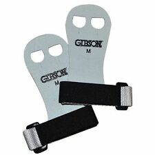 NEW Gibson Rainbow Gymnastics Palm Hand Grips White/BLACK MEDIUM Free Ship