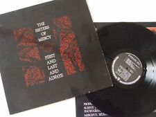 THE SISTERS OF MERCY - LP Vinyl VG+ MERCIFUL RELEASE MR 337L ERSTPRESSUNG
