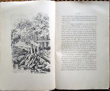 1904 – CORREVON, PAR MONTS ET VAUX – ALPI VALLE D'AOSTA VALLI VALDESI MONTAGNA