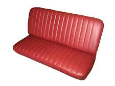 Willys Utility Pickup Seat Upholstery with Pleats for Front Bench 1946-1962