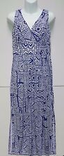 WOMENS cool summer MAXI DRESS = CHAPS by Ralph Lauren = LARGE = NEW $110 = ym66