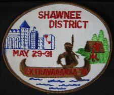 BSA Patch 1981 Indian Shawnee Dist Extravaganza
