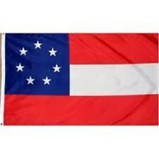 7 STARS and BARS FLAG NEW 3X5FT 1ST FIRST National southern states civil war