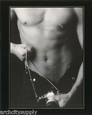 MINI POSTER : ANDRE FISET - CAMERA MAN -SEXY MALE MODEL   - #PCD126  RP58 QC