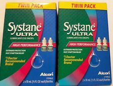 Systane Ultra High Performance Lubricant Eye Drops - 10 ml (4 bottles)