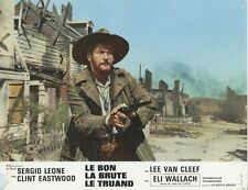 ELI WALLACH THE GOOD, THE BAD AND THE UGLY 1966 VINTAGE LOBBY CARD ORIGINAL #3