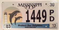 Dolphins license plate Lighthouse Dolphin Cetacea Ocean animal Seaworld Flipper