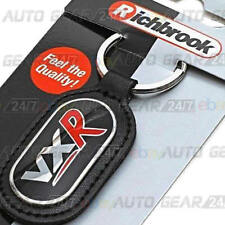 Richbrook Official Licensed Real Leather Vauxhall VXR Car Keyring Key Chain Fob
