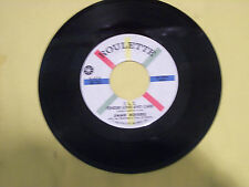 Jimmy Rodgers - Tender Love And Care - Waltzing Matilda - Orig Roulette 45 E+/NM