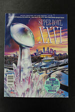 Super Bowl XXVI Program Metrodome Stadium Redskins vs Bills Mark Rypien MVP SB26