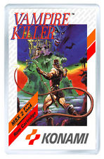 VAMPIRE KILLER MSX FRIDGE MAGNET IMAN NEVERA