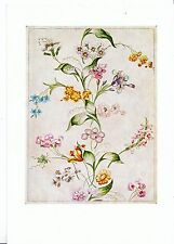 Museum Postcard - Design For Woven Silk - English [Spitalfields]    AB2411