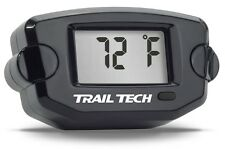 Black 14mm TTO Trail Tech Temperature Gauge w/Front Button - For your Paramotor