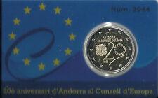 ANDORRA | ANDORRE 2 EURO GDM ( GEDENKMÜNZE ) EUROPARAT 2014 BE | PP AUSGABE 2016