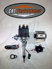 Small Cap CHEVY INLINE 6 Cylinder 235 Black HEI Distributor + 50K Volt Coil