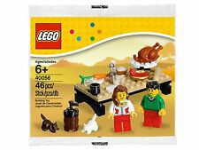 RARE NEW LEGO 40056 Thanksgiving Feast Polybag