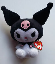 Ty Beanie Babies Kuromi by Sanrio (Hello Kitty) - Halloween 2012 - NEW with Tags