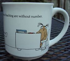 Sandra Boynton The Little Joys of Teaching are Without Number MUG Coffee Cup