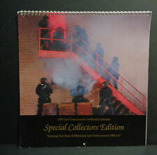 1995 LAW ENFORCEMENT CALENDAR, GREAT ACTION PHOTOS, SWAT, CAMARO, MUSTANG, COPS!