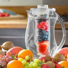 2.7L PARTY CLEAR FRUIT INFUSION PITCHER JUG CORE FLAVOUR INFUSER WATER ICED TEA